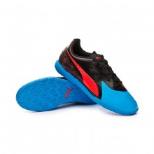 Chaussure de futsal One 19.4 IT enfant Bleu azur-Red blast-Black