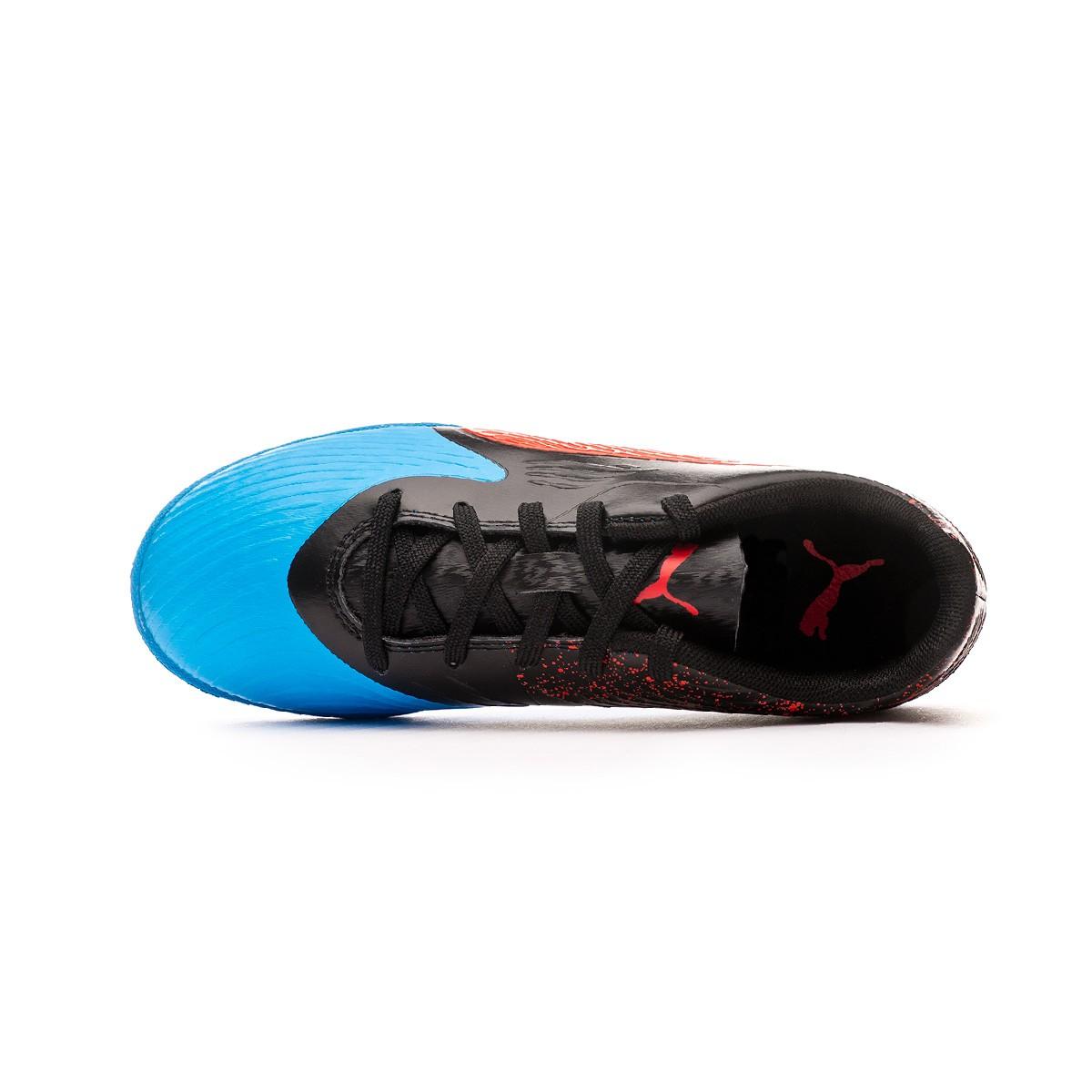 a28505f18f3fa Tenis Puma One 19.4 IT Niño Bleu azur-Red blast-Black - Tienda de fútbol  Fútbol Emotion