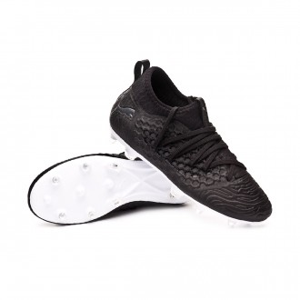 Scarpe   Puma Future 19.3 FG/AG Junior Black-White