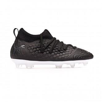 Football Boots  Puma Kids Future 19.3 FG/AG Black-White