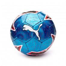 Balón One Laser Bleu azur-Red blast-White