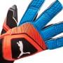 Guante One Grip 1 Hybrid Pro Black-Bleu azur-Red blast
