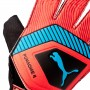 Guante One Grip 4 Red blast-Bleu azur-Black