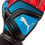 Guante One Protect 2 RC Bleu azur-Red blast-Black