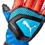 Guante One Protect 3 Niño Bleu azur-Red blast-Black