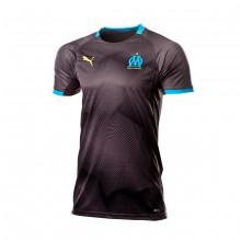 Camiseta Olympique de Marsella Graphic 2018-2019 Black-Bleu azur