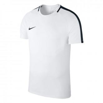 Camiseta  Nike Academy 18 Training m/c Niño White-Black
