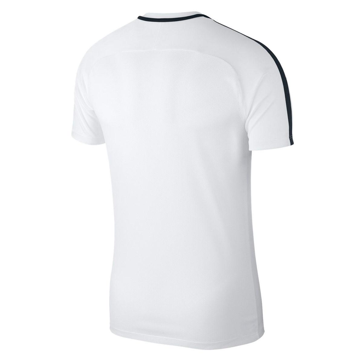 Jersey Nike Dry Academy 18 Niño White-Black - Leaked soccer b0e2d57acf55d