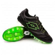 Football Boots Stadio 45 FG Black-Mint