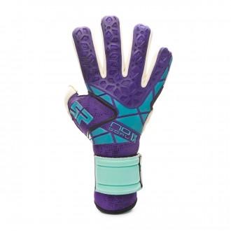Glove SP Fútbol No Goal IX Siroco EVO Pro CHR Purple-Menta