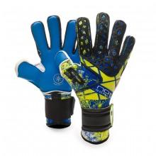 Luvas No Goal IX Siroco EVO Aqualove CHR Azul-Preto-Limão