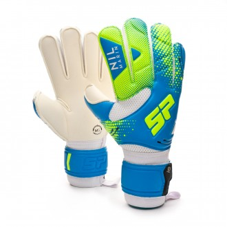 Glove Nil Marín Iconic CHR Blue-Lime