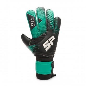 Glove  SP Fútbol Nil Marín Training CHR Black-Turquoise