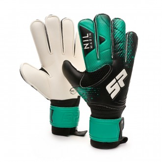 Glove Nil Marín Training Protect CHR Black-Turquoise