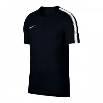 Maglia  Nike Breathe Squad Black-White
