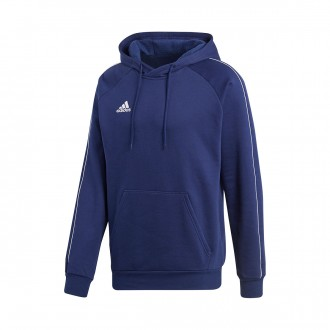 Sweatshirt  adidas Core 18 Hoody Dark blue-White