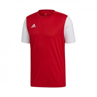 Camisola  adidas Estro 19 m/c Power red-White