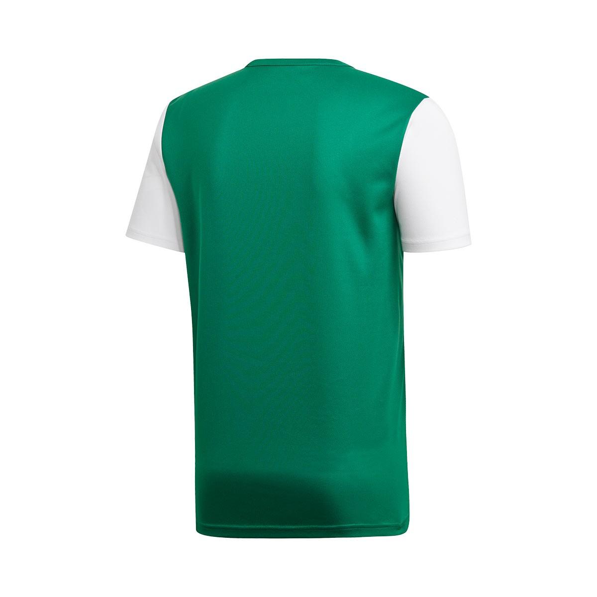 59d44b033 Jersey adidas Estro 19 m/c Bold green-White - Tienda de fútbol Fútbol  Emotion