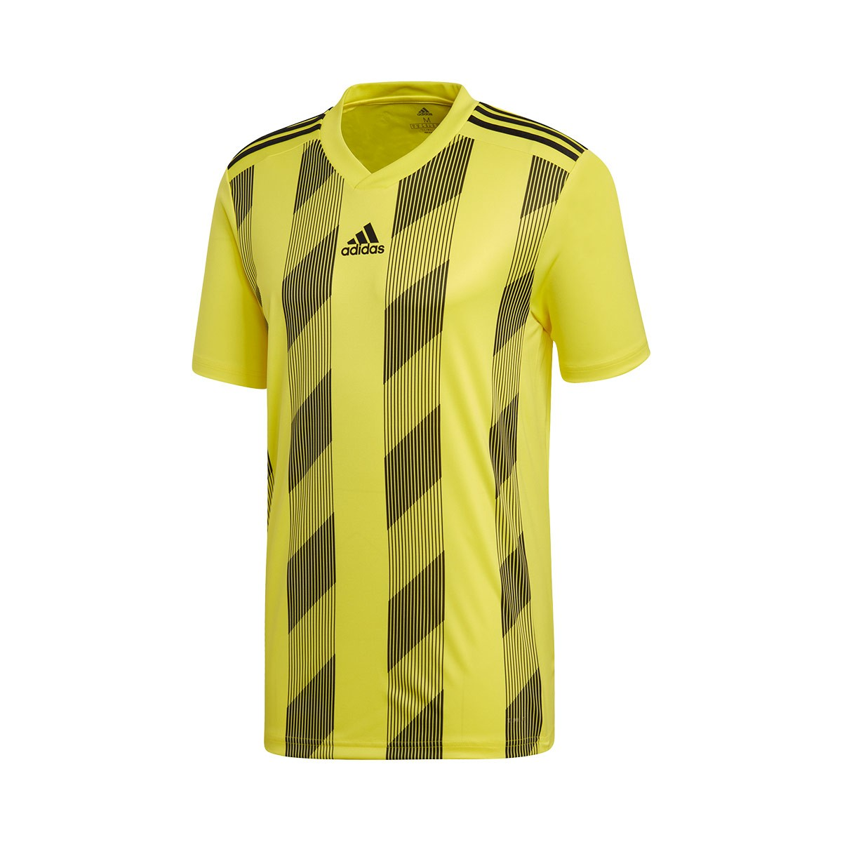 a0098b7d5 Jersey adidas Striped 19 m/c Bright yellow-Black - Football store Fútbol  Emotion