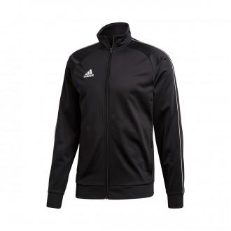Casaco  adidas Core 18 Polyester Black-White