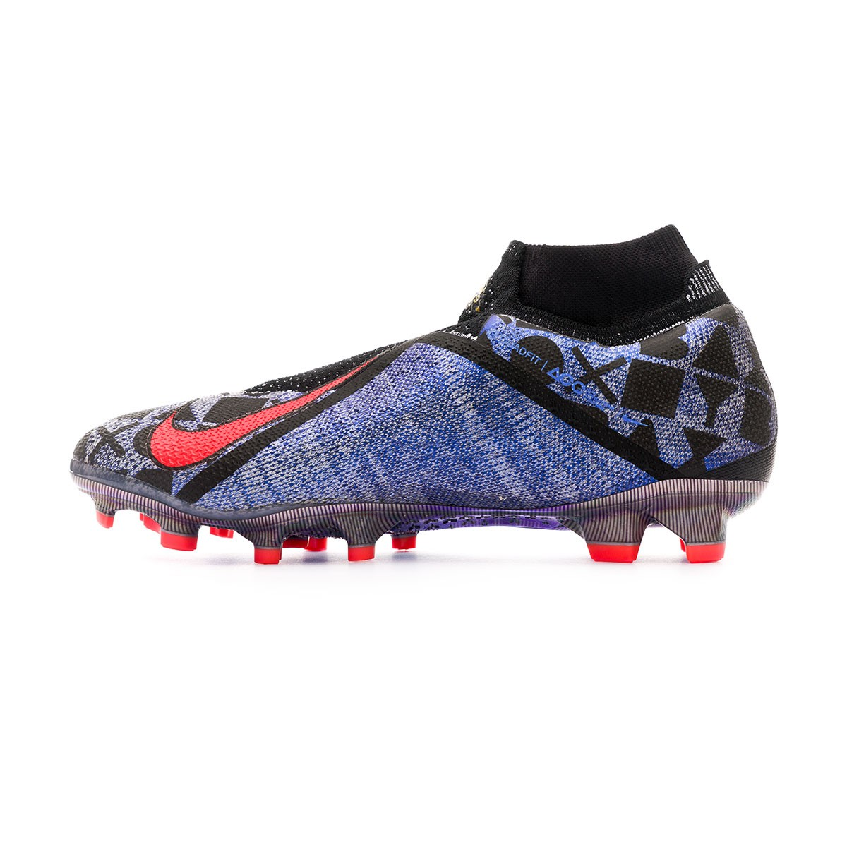 8062854a9 Football Boots Nike Phantom Vision Elite DF FG EA Sports White-Black-Bright  crimson - Football store Fútbol Emotion