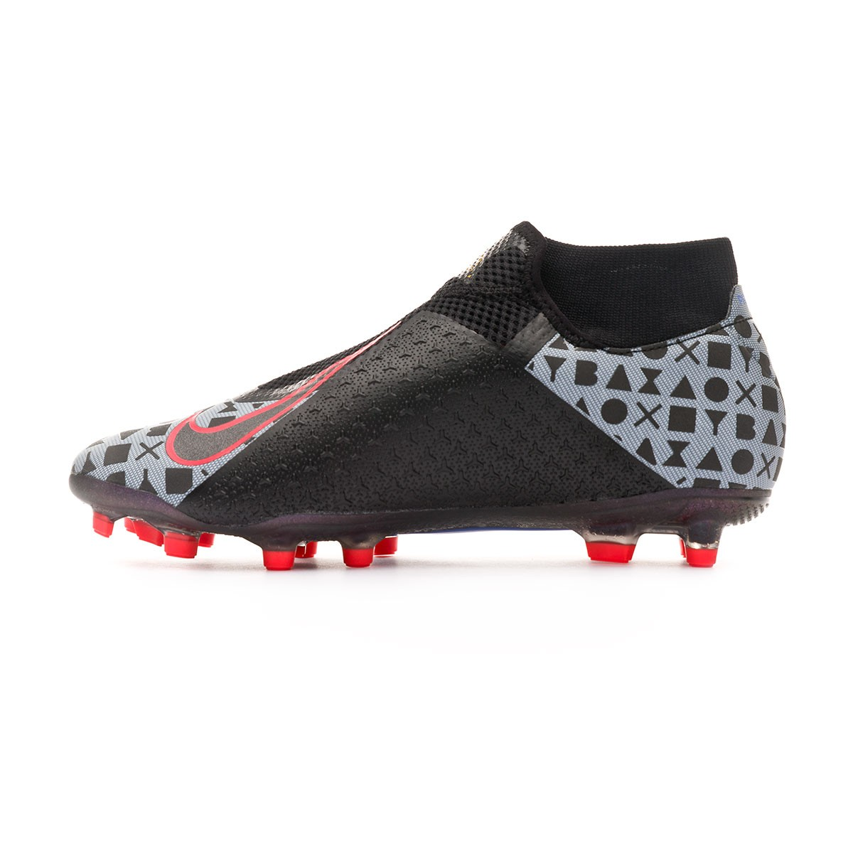 b106c58e4d6 Football Boots Nike Phantom Vision Academy DF MG EA Sports  White-Black-Bright crimon-Royal pulse - Tienda de fútbol Fútbol Emotion