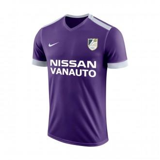 Camiseta  Nike Park Derby II m/c San Roque Court purple-White