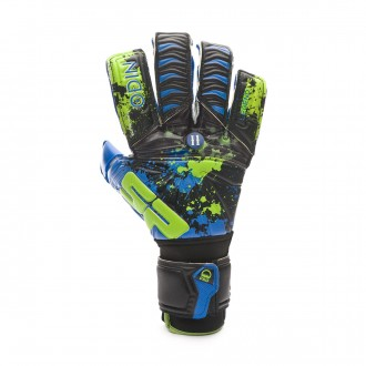 Glove SP Fútbol Odin II Cierzo Elite Wet-Dry CHR Blue-Lime