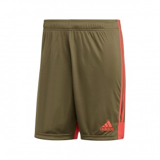 Shorts  adidas Tastigo 19 Raw khaki-Shock red