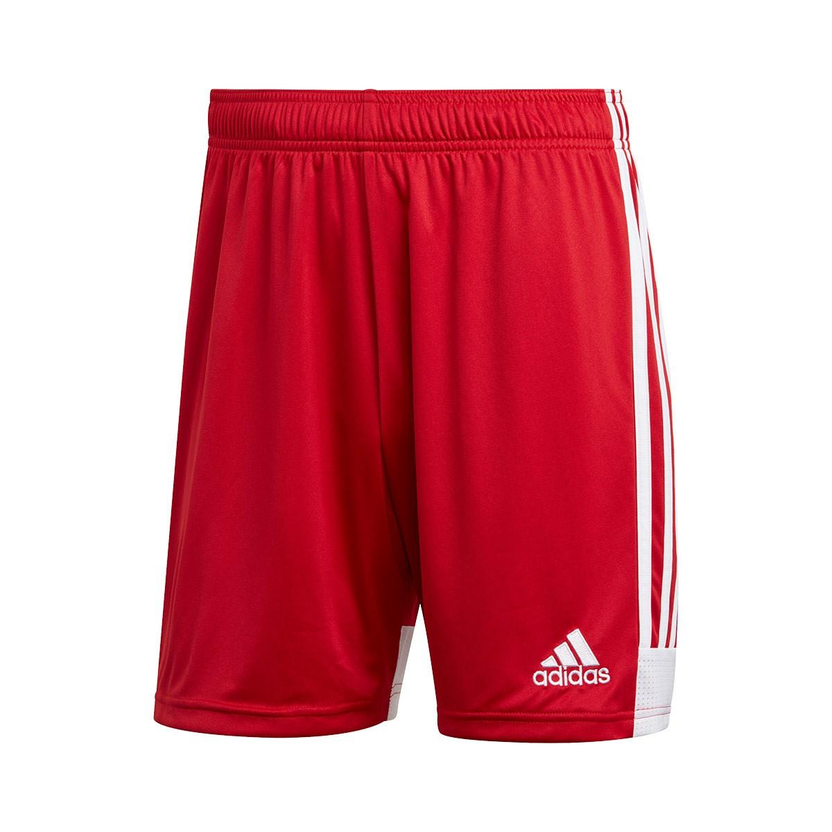 short adidas red