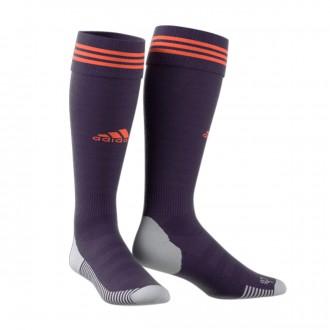 Football Socks  adidas Adisock 18 Legend purple-True orange