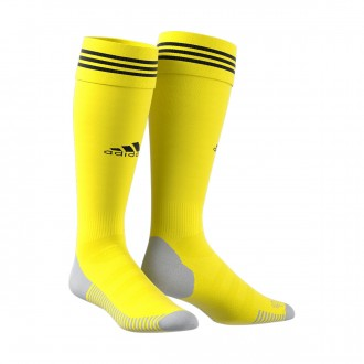 Football Socks  adidas Adisock 18 Bright yellow-black