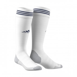 Medias  adidas Adisock 18 White-Dark blue