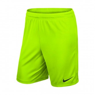 Shorts  Nike Dry Football Niño Volt-Black