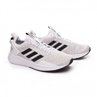 Zapatilla  adidas Questar Ride White-Core black-Grey two
