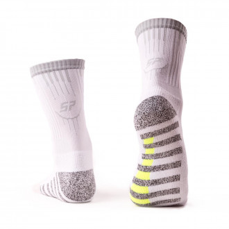 Calcetines  SP Fútbol Grip Blanco