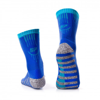 Socks SP Fútbol Grip Blue