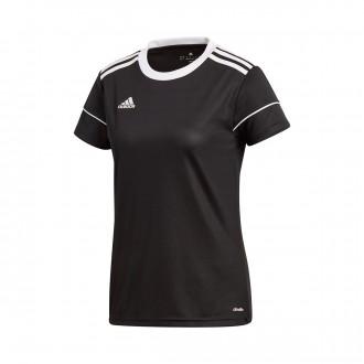 Camisola  adidas Squadra 17 Mujer m/c Black-White