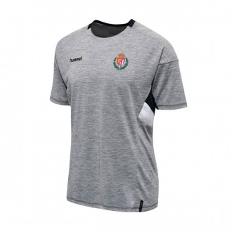 Camiseta  Hummel Real Valladolid CF Training 2018-2019 Gris