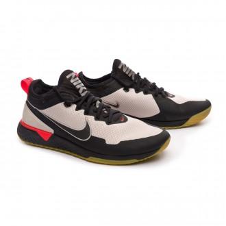 Sapatilha  Nike Nike F.C. Black-Bright crimson-Metallic gold