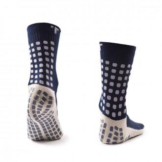 Socks  Trusox Anti-slip Trusox  Navy blue