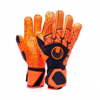 Guanti  Uhlsport Next Level Supergrip Navy-Fluor red