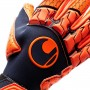 Guante Next Level Supergrip Navy-Fluor red
