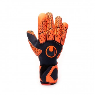 Glove  Uhlsport Next Level Supergrip Finger Surround Navy-Fluor red