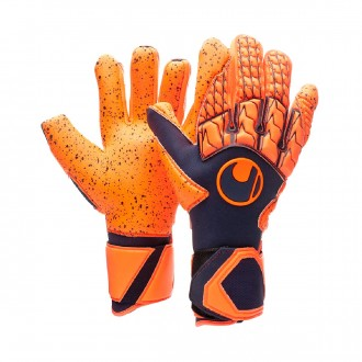 Guanti  Uhlsport Next Level Supergrip HN Navy-Fluor red