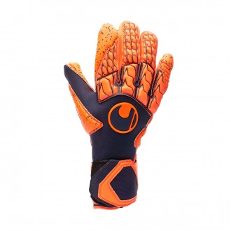 Glove  Uhlsport Next Level Supergrip HN Navy-Fluor red