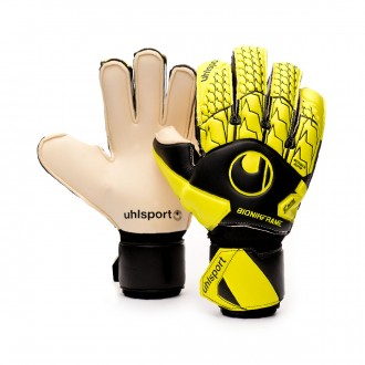 Gant  Uhlsport Absolutgrip Bionik Black-Fluor yellow