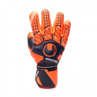 Glove  Uhlsport Next Level Absolutgrip Finger Surround Navy-Fluor red