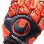 Guante Next Level Absolutgrip Finger Surround Navy-Fluor red