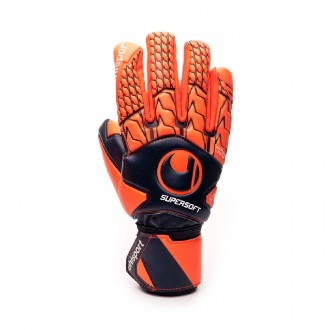 Glove  Uhlsport Next Level Supersoft HN Navy-Fluor red
